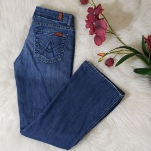 """7 For All Mankind Lexie """"A"""" Pocket Jeans Sz P26"""